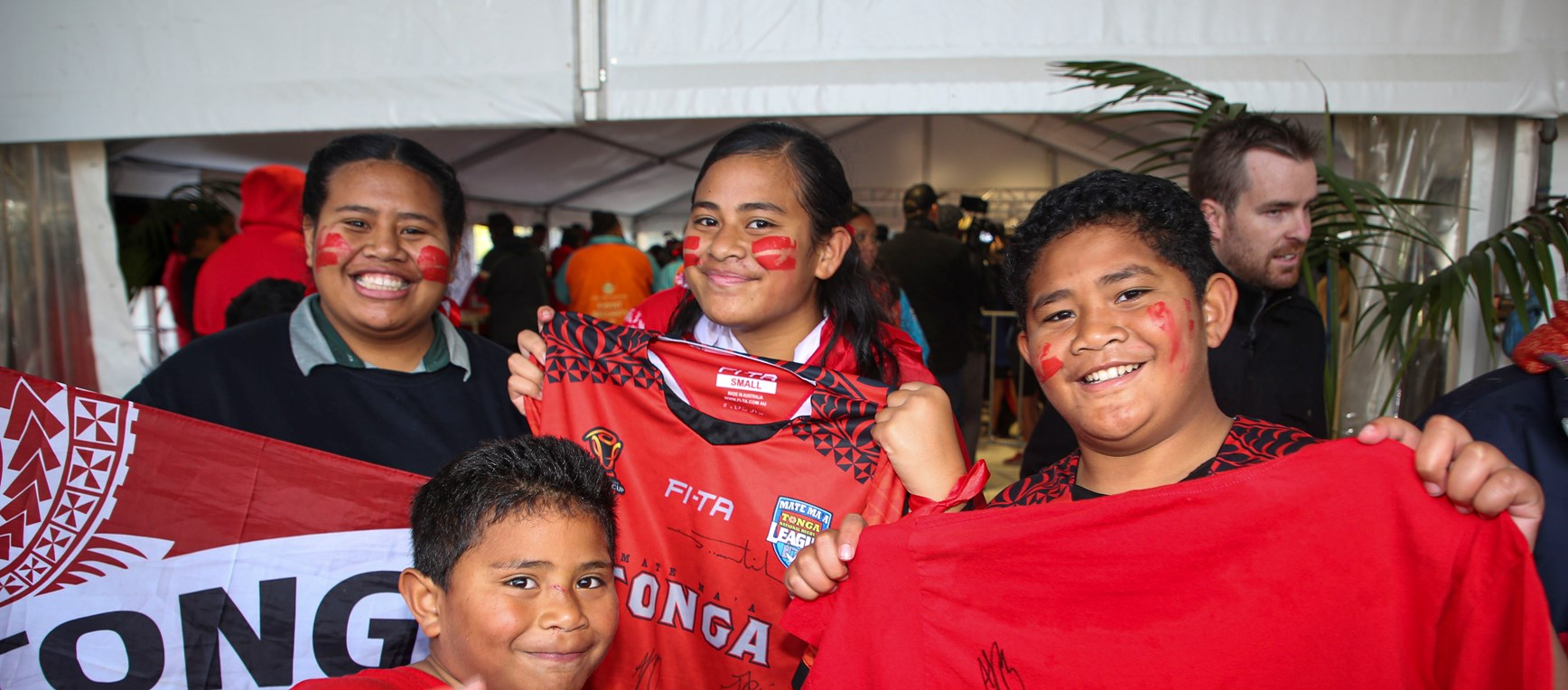In pictures: Mate Ma'a Tonga fan day
