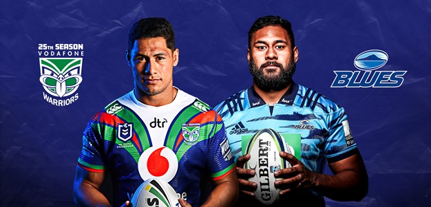 Vodafone Warriors and Blues unique ticket deal for this weekend