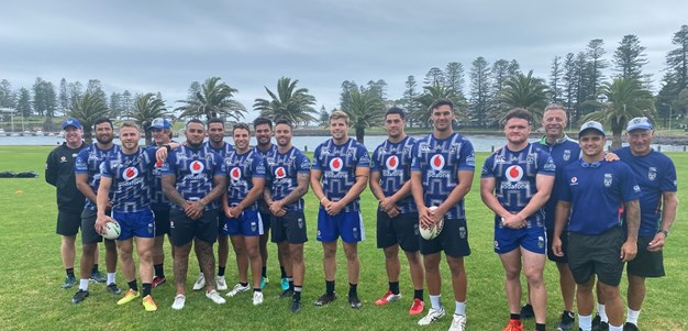 In pictures: Vodafone Warriors at Camp Kiama