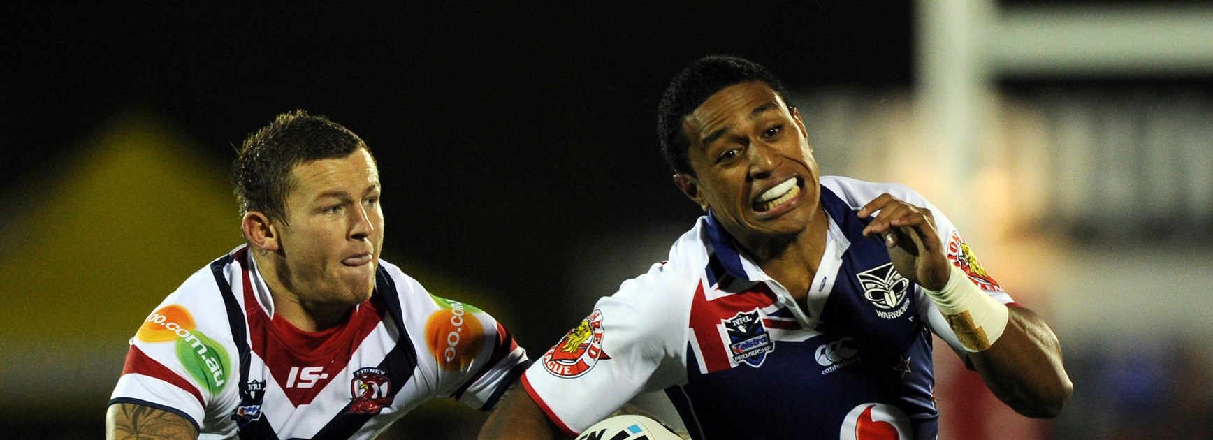 Vodafone Warriors grind down Roosters