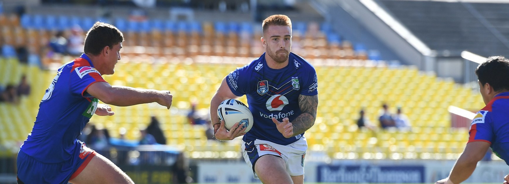 Vodafone Warriors out of Canterbury Cup