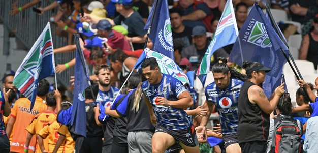 Vodafone Warriors 'so professional'
