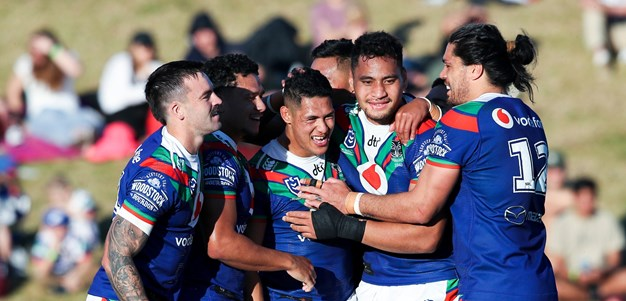 Vodafone Warriors dominate Knights in homecoming contest