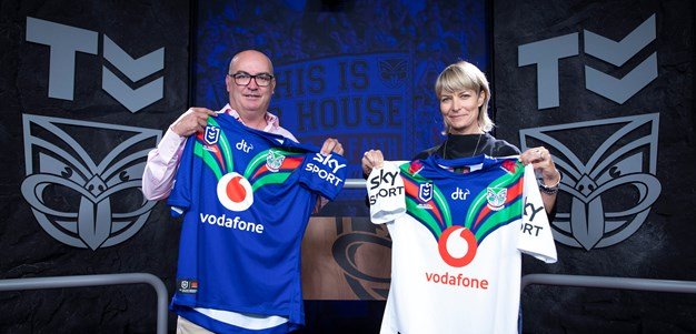 Sky-Vodafone Warriors partnership goes to next level