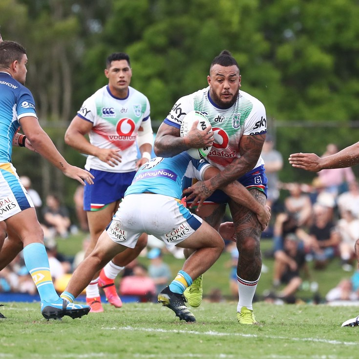 Solid workout for Vodafone Warriors in only NRL trial