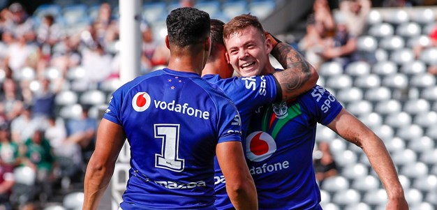 RTS cuts through, Berry backs up for first NRL try