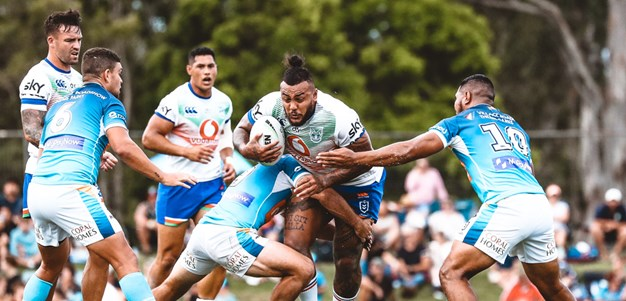 In pictures: Vodafone Warriors' trial against Gold Coast Titans