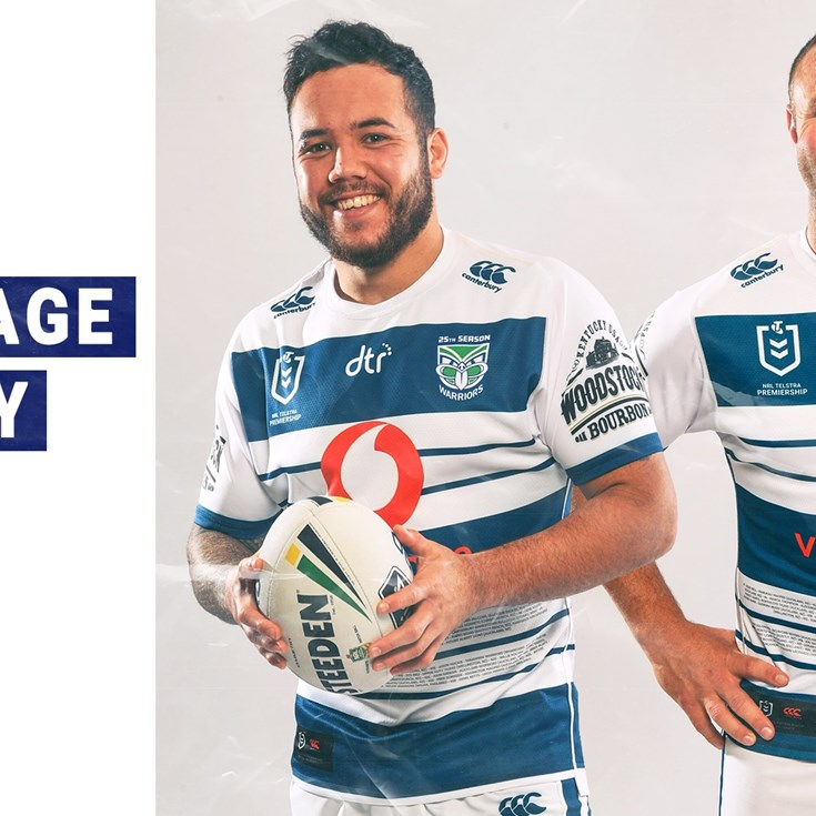 6f4b76542 Auckland colours inspire Heritage jersey - Warriors
